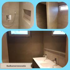Badkamer renovatie door Montagenzo