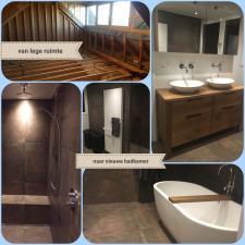 van lege ruimte naar nieuwe badkamer door Montagenzo